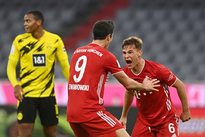 Clip Bayern Munich hoàn tất cú ăn 5 khi đánh bại Dortmund ở Siêu cúp Đức - Ảnh 4.
