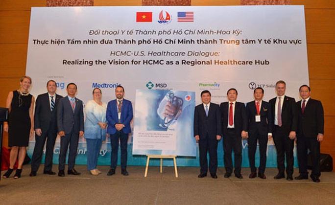 Mỹ hỗ trợ TP HCM thành trung tâm y tế khu vực - Ảnh 1.
