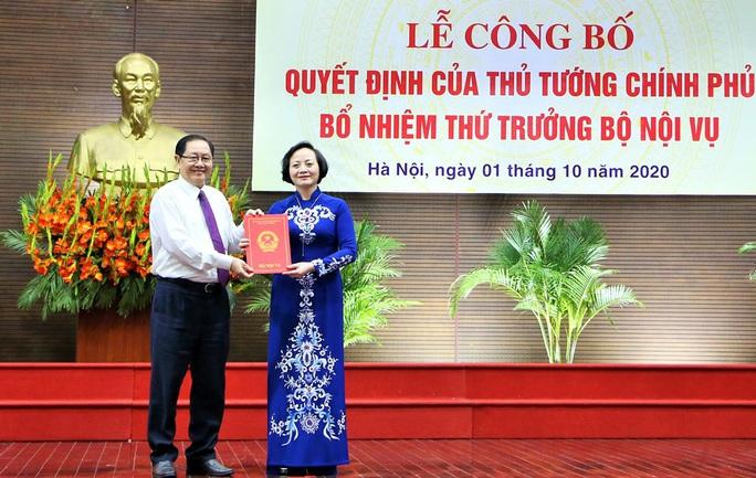 Bộ trưởng Bộ Nội vụ: Bổ nhiệm bà Phạm Thị Thanh Trà là theo yêu cầu nhiệm vụ công tác - Ảnh 1.