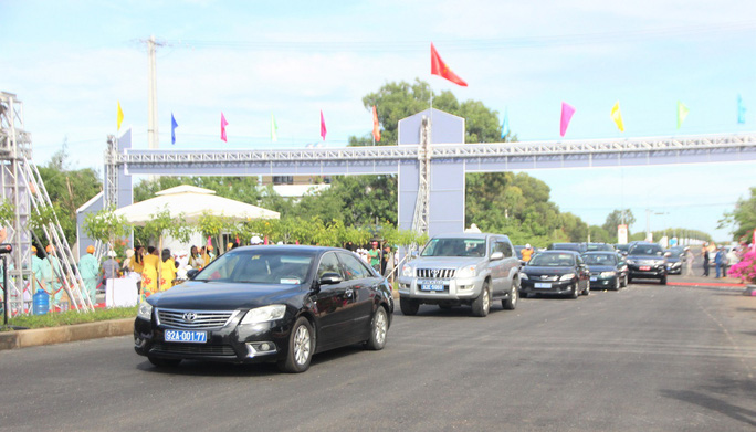 Quảng Nam thông xe kỹ thuật tuyến đường gần 1.500 tỉ đồng - Ảnh 2.