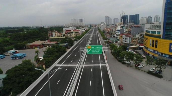 Khánh thành cầu cạn Mai Dịch - Nam Thăng Long trị giá 5.343 tỉ đồng - Ảnh 3.