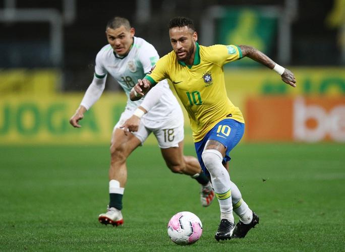Vùi dập Bolivia 5-0, Brazil lên đỉnh bảng Nam Mỹ - Ảnh 2.