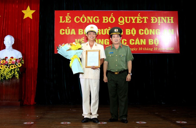 Thượng tá Nguyễn Nhật Trường trở thành tân Phó Giám đốc Công an tỉnh An Giang - Ảnh 1.