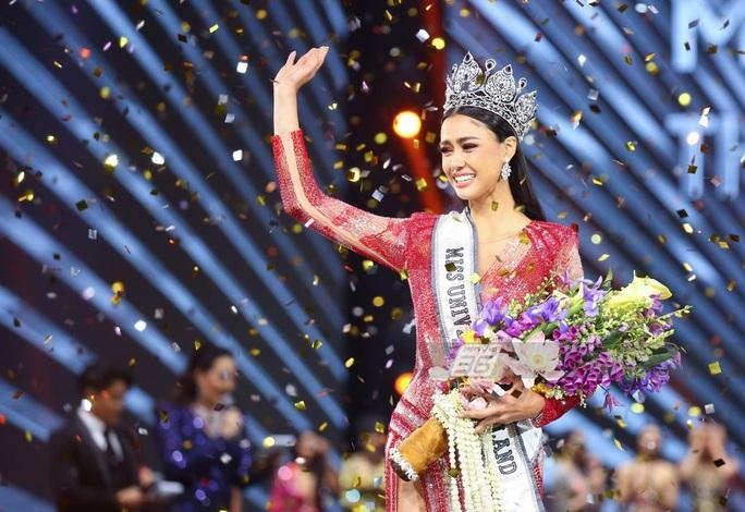 Cận cảnh cô gái lai đăng quang Hoa hậu Hoàn vũ Thái Lan - Ảnh 6.