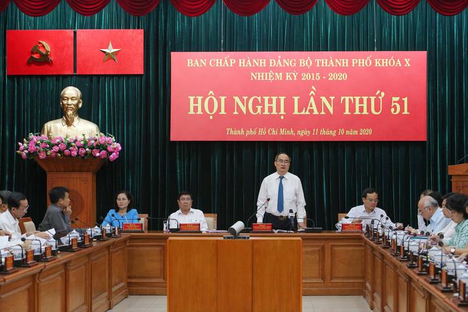 Bí thư Nguyễn Thiện Nhân phát biểu tại hội nghị - ảnh Hoàng Triều_3