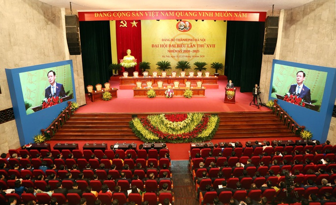 Đại hội đại biểu lần thứ XVII Đảng bộ TP Hà Nội họp phiên trù bị - Ảnh 1.