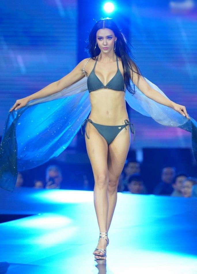 Cận cảnh cô gái lai đăng quang Hoa hậu Hoàn vũ Thái Lan - Ảnh 8.