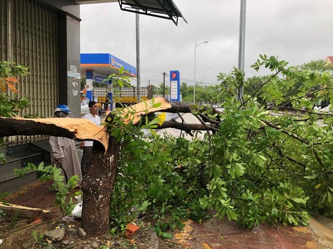Bão số 6 chưa tới, Quảng Ngãi hứng mưa gió, nhiều tàu cá gặp nạn - Ảnh 4.