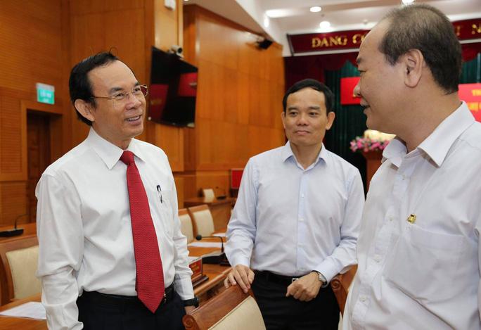Ông Nguyễn Văn Nên được giới thiệu để bầu làm Bí thư Thành ủy TP HCM - Ảnh 5.