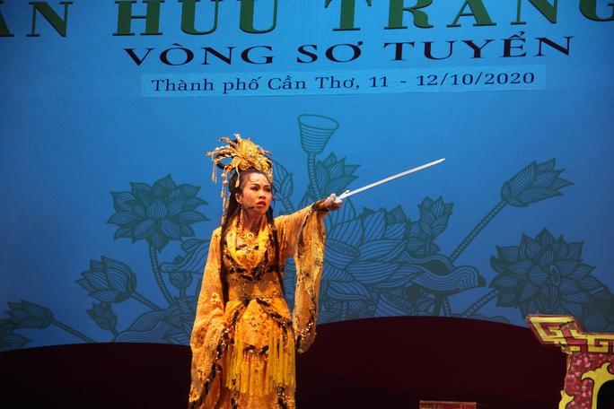 Nghệ sĩ Linh Sang, Nhà hát Tây Đô đoạt số điểm cao nhất cuộc thi Trần Hữu Trang tại Cần Thơ - Ảnh 3.