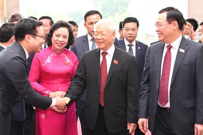 Tổng Bí thư, Chủ tịch nước Nguyễn Phú Trọng dự và chỉ đạo Đại hội Đảng bộ TP Hà Nội XVII - Ảnh 8.