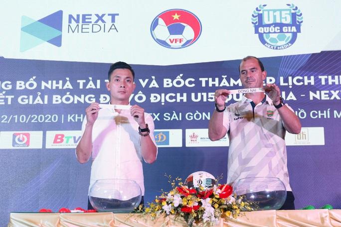 Huỳnh Kesley, Tăng Tuấn trình làng với tư cách HLV ở VCK giải U15 Quốc gia - Ảnh 3.