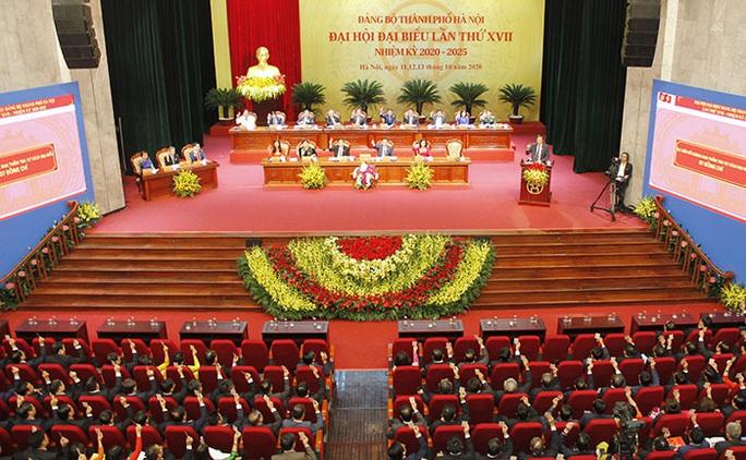 Tổng Bí thư, Chủ tịch nước Nguyễn Phú Trọng dự và chỉ đạo Đại hội Đảng bộ TP Hà Nội XVII - Ảnh 1.