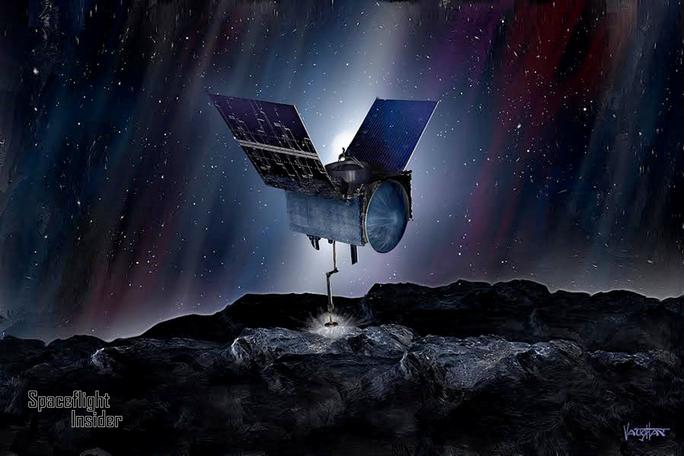 Phát hiện cấu trúc tạo sự sống y hệt Trái Đất trên tiểu hành tinh kim cương - Ảnh 1.