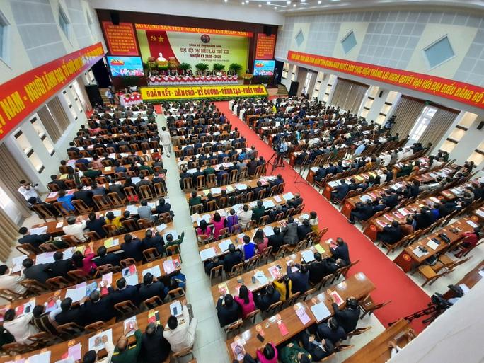 Danh sách 20 đại biểu Quảng Nam dự Đại hội đại biểu toàn quốc lần thứ XIII - Ảnh 1.