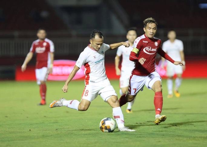 Vắng Công Phượng, CLB TP HCM thua sít sao trên sân Thống Nhất - Ảnh 2.