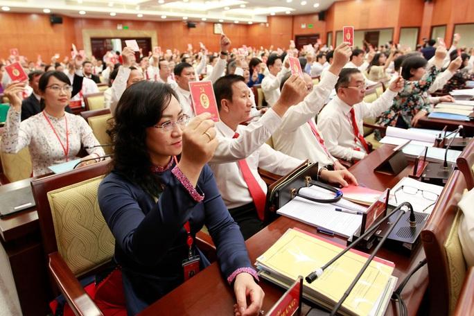 Hình ảnh phiên trù bị Đại hội Đảng bộ TP HCM lần thứ XI - Ảnh 8.