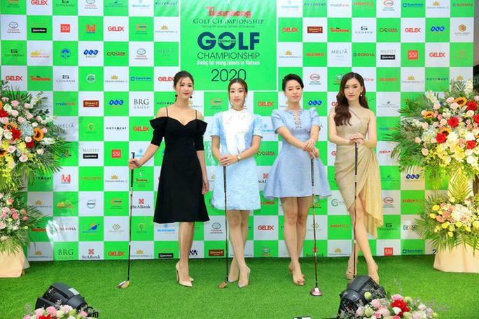 Nhiều hoa hậu, á hậu tranh tài tại giải Golf có giải thưởng 6 tỉ đồng - Ảnh 1.