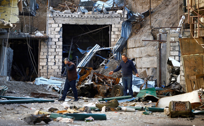 Nagorno-Karabakh đối mặt khủng hoảng nhân đạo - Ảnh 1.
