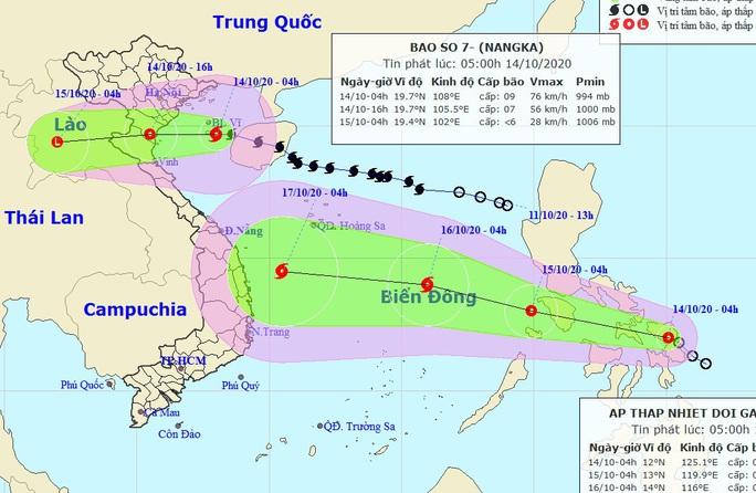Bão chồng bão trên Biển Đông vào nước ta - Ảnh 1.
