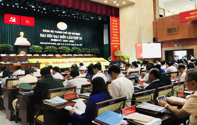 Đại hội đại biểu Đảng bộ TP HCM nhiệm kỳ 2020-2025 họp phiên trù bị - Ảnh 1.