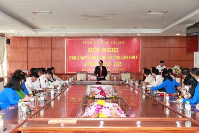 Ông Lê Tiến Châu tái đắc cử Bí thư Tỉnh ủy Hậu Giang - Ảnh 19.