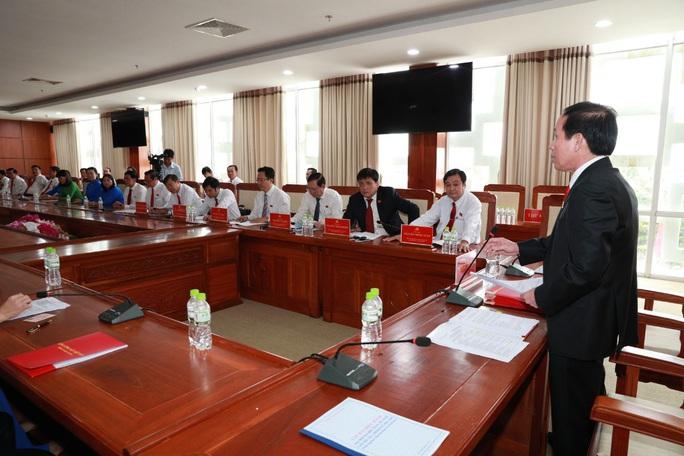 Ông Lê Tiến Châu tái đắc cử Bí thư Tỉnh ủy Hậu Giang - Ảnh 20.