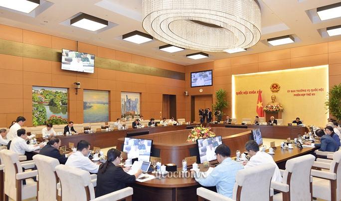 UBTV Quốc hội cho ý kiến việc miễn nhiệm Thống đốc Ngân hàng Nhà nước với ông Lê Minh Hưng - Ảnh 1.