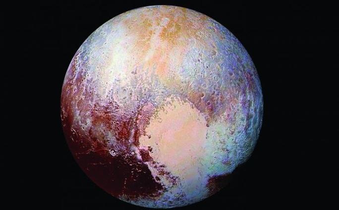 Kinh ngạc cấu trúc giống y Trái Đất ở hành tinh thứ 9 - Ảnh 2.