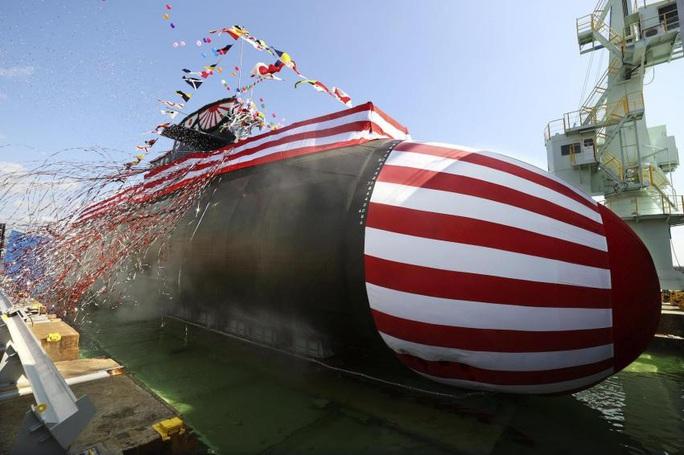Nhật Bản trình làng tàu ngầm mới trị giá 720 triệu USD - Ảnh 1.