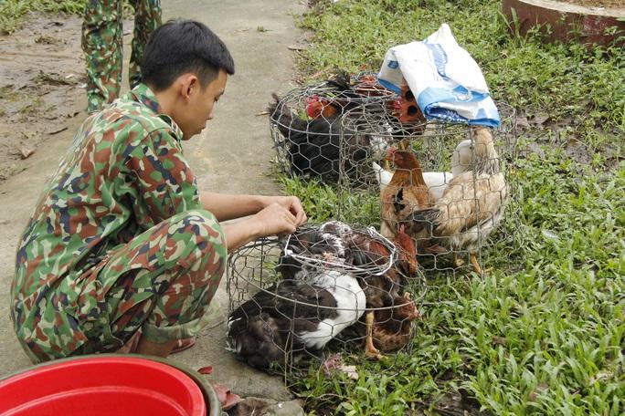 Phóng sự ảnh người dân tặng vịt, nấu ăn miễn phí cho đội cứu nạn ở Rào Trăng 3 - Ảnh 10.