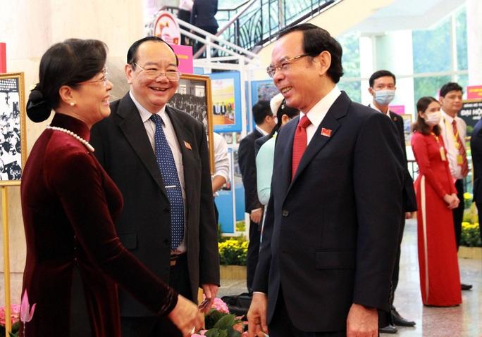 Hình ảnh lãnh đạo, nguyên lãnh đạo Đảng, Nhà nước dự khai mạc Đại hội Đảng bộ TP HCM - Ảnh 12.