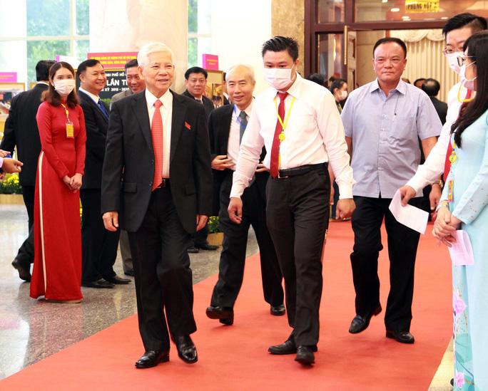 Hình ảnh lãnh đạo, nguyên lãnh đạo Đảng, Nhà nước dự khai mạc Đại hội Đảng bộ TP HCM - Ảnh 8.