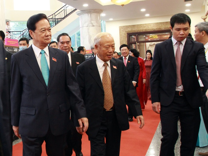 Hình ảnh lãnh đạo, nguyên lãnh đạo Đảng, Nhà nước dự khai mạc Đại hội Đảng bộ TP HCM - Ảnh 9.