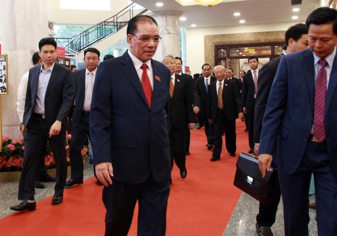 Hình ảnh lãnh đạo, nguyên lãnh đạo Đảng, Nhà nước dự khai mạc Đại hội Đảng bộ TP HCM - Ảnh 3.