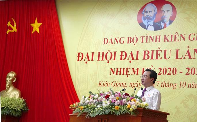 Đại hội Đại biểu Đảng bộ tỉnh Kiên Giang kết thúc phiên họp trù bị - Ảnh 1.