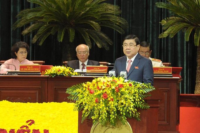 Chủ tịch UBND TPHCM nêu hàng loạt giải pháp đột phá trong nhiệm kỳ mới  - Ảnh 1.