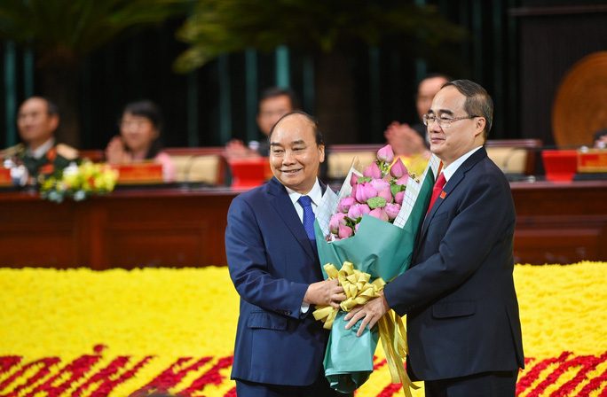 Thủ tướng Nguyễn Xuân Phúc: Đại hội mang tính quyết định tương lai của TP HCM - Ảnh 3.