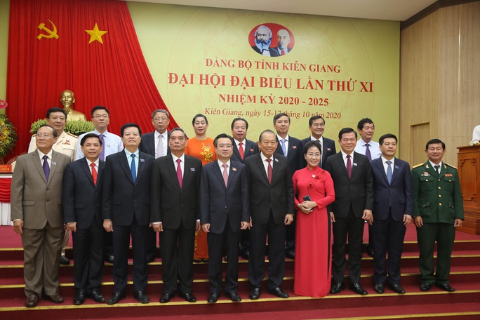 Khai mạc Đại hội Đại biểu Đảng bộ tỉnh Kiên Giang - Ảnh 2.