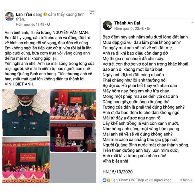 Đất mẹ Quảng Bình khóc thương tướng Nguyễn Văn Man - Ảnh 5.