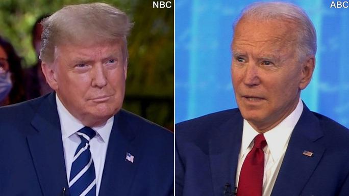 Tổng thống Trump toát mồ hôi trong phiên hỏi - đáp với cử tri - Ảnh 1.