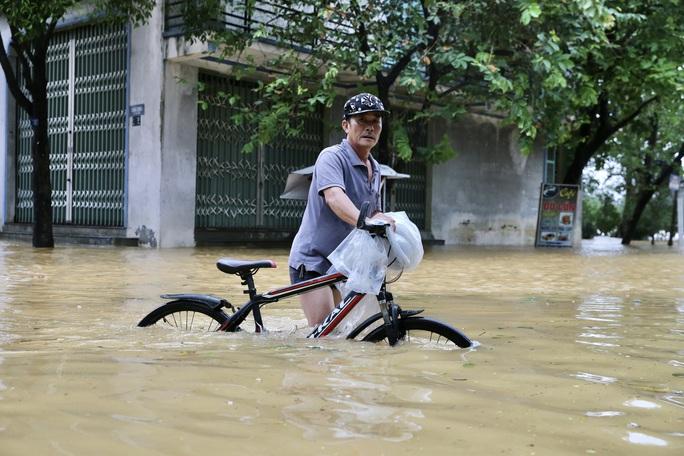 Ghe đò nườm nượp bên trong TP Huế, nước chảy rất xiết - Ảnh 8.