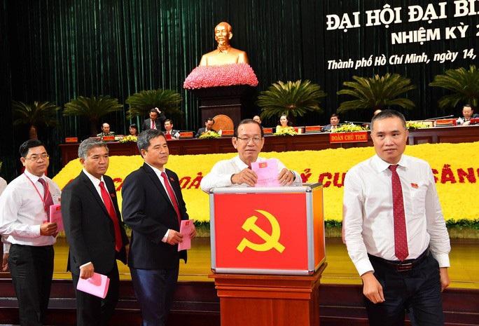 Công bố danh sách Ban Chấp hành Đảng bộ TP HCM khóa mới - Ảnh 1.