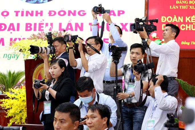 Những hình ảnh tại lễ khai mạc Đại hội Đảng bộ tỉnh Đồng Tháp - Ảnh 12.