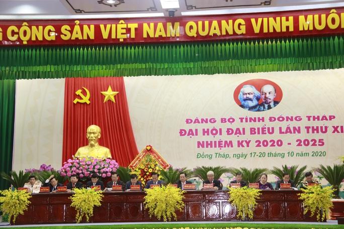 Những hình ảnh tại lễ khai mạc Đại hội Đảng bộ tỉnh Đồng Tháp - Ảnh 5.