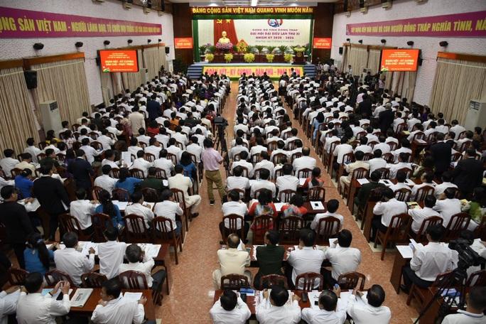 Những hình ảnh tại lễ khai mạc Đại hội Đảng bộ tỉnh Đồng Tháp - Ảnh 8.