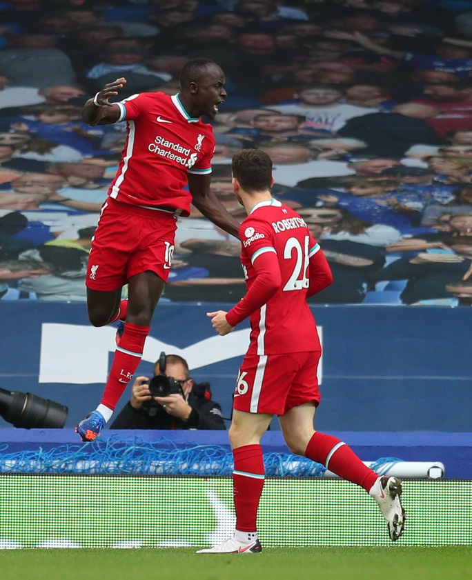 Mãn nhãn khi Everton cầm chân  Liverpool trong trận derby 4 bàn thắng - Ảnh 1.
