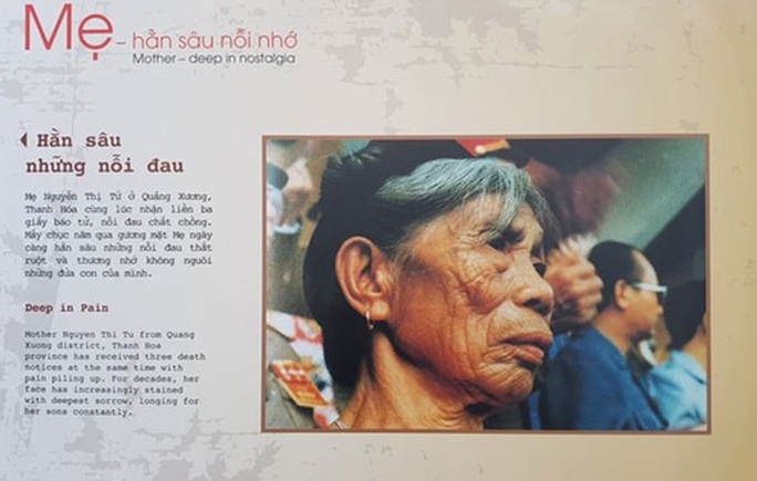 Xúc động với triển lãm ảnh Mẹ và trái tim người lính - Ảnh 1.