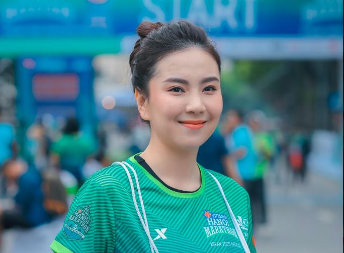 Diễn viên Xuân Nghị, Thanh Sơn lần đầu chạy thi cùng hot girl thời tiết Mai Ngọc của VTV - Ảnh 4.