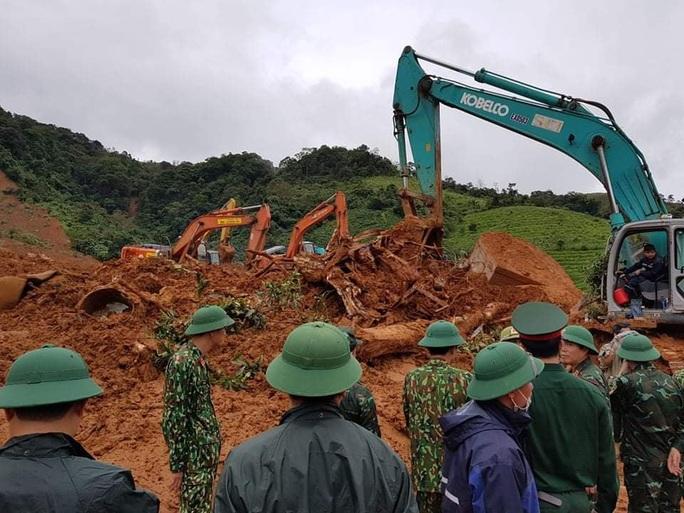 Tìm thấy 3 thi thể cuối cùng vụ 22 cán bộ, chiến sĩ bị sạt lở núi vùi lấp ở Quảng Trị - Ảnh 4.